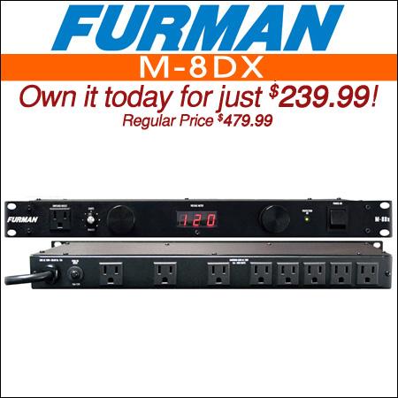 Furman M-8DX