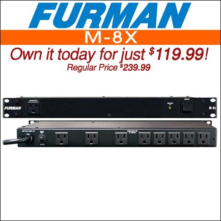 Furman M-8X