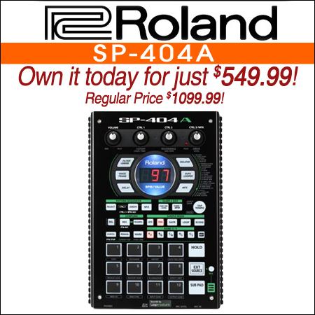 Roland SP-404A Linear Wave Sampler