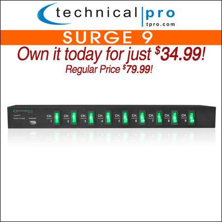 Technical Pro Surge 9