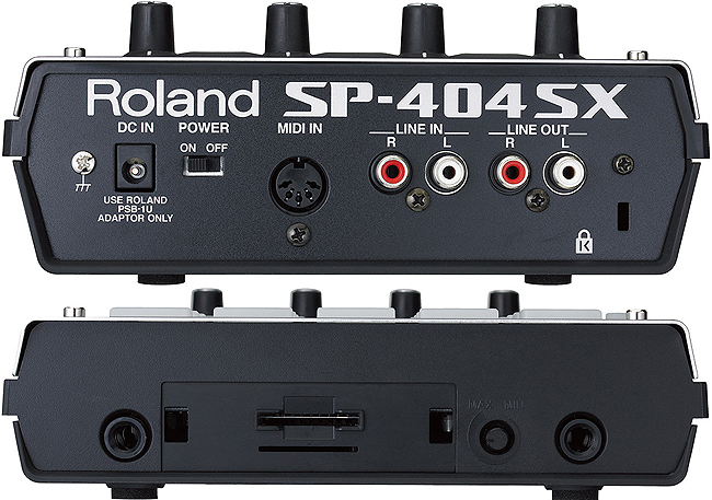 Roland Sp 404sx Dj Controllers Dj Cases And Racks