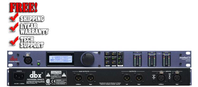 DBX Driverack PX Powered Speaker Optimizer