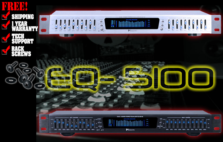 Technical Pro EQ-5100