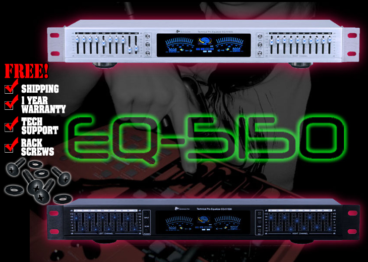Technical Pro EQ-5150