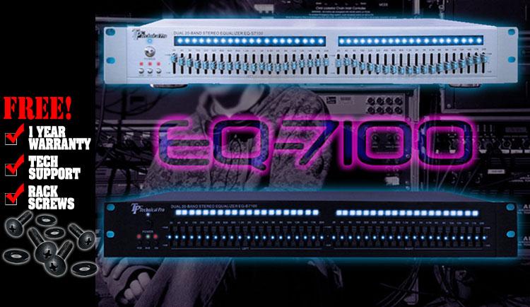 Technical Pro EQ-7100