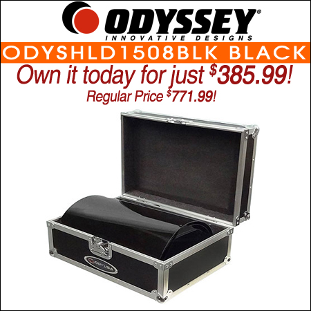 Odyssey ODYSHLD1508BLK Black Uplighting Covers