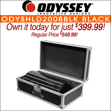 Odyssey ODYSHLD2008BLK Black Uplighting Covers