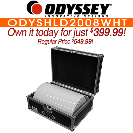 Odyssey ODYSHLD2008WHT Black Uplighting Covers
