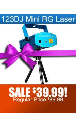 123DJ Mini RG Dance Laser