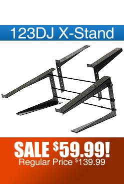 123DJ X-STAND