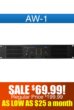 Technical Pro AW-1 DJ Amplifier