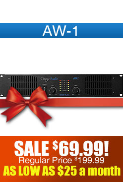 Technical Pro AW-1 DJ Amplifier
