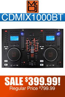 Mr. Dj CDMIX1000BT