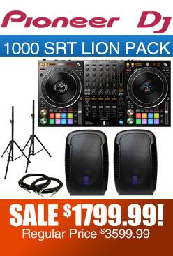 DDJ 1000 SRT pack