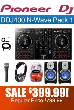 DDJ400 N-Wave Pack 1