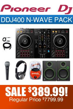 DDJ400 N-Wave Pack