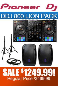 DDJ 800 Pack