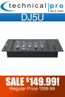 Technical Pro DJ5U
