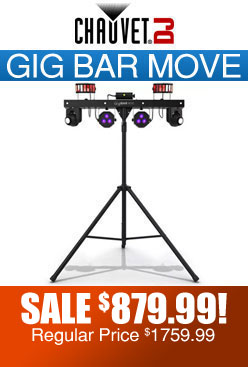 CHAUVET DJ Gig Bar Move