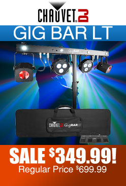 Chauvet DJ Gig Bar LT