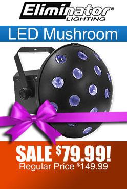 LED Mushroom