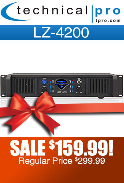 Technical Pro LZ4200 Power DJ Amp
