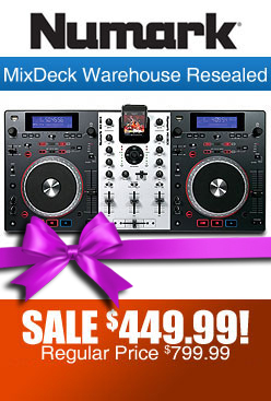 Numark Mixdeck Warehouse Resealed