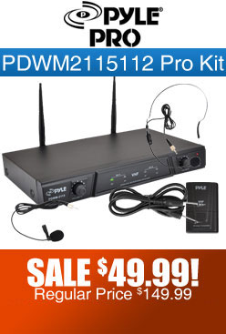 PDWM2115 Kit Wireless Microphone
