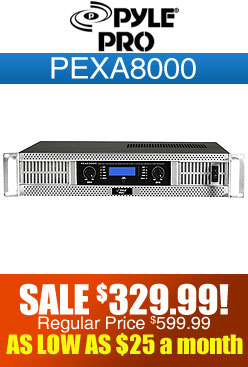 Pyle Pro PEXA8000 Power Amplifier