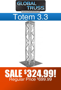 Global Truss Totem 3.3 Vertical Light Truss