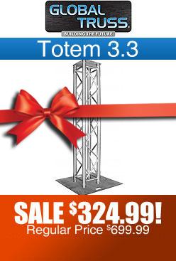 Global Truss Totem 3.3 Vertical Light Truss