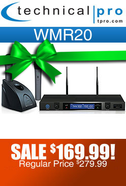 WMR20 Wireless Microphone