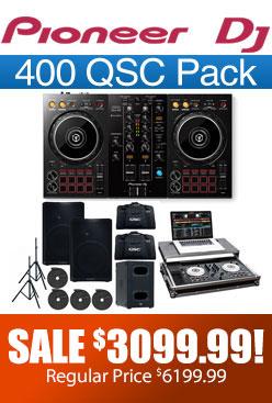 DDJ 400 QSC Pack