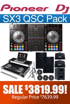 Sx3 QSC Pack