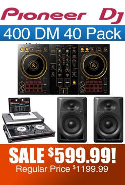 DDJ 400 DM 40 Pack