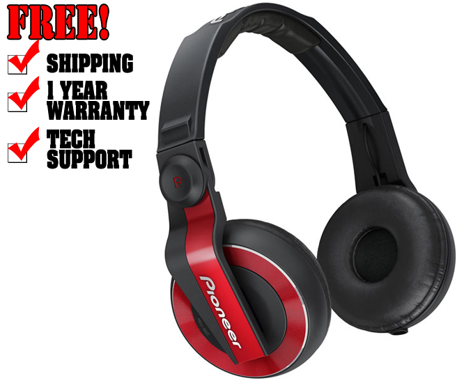 Tai nghe Pioneer HDJ-500 DJ Headphones