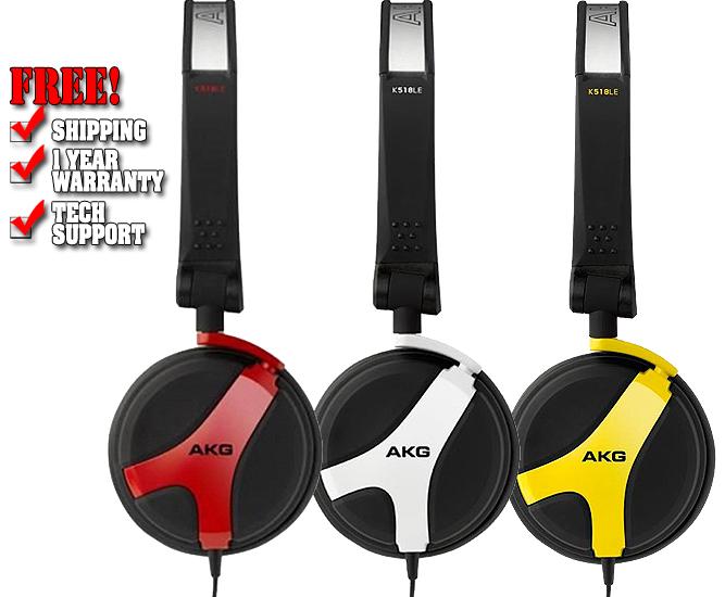 AKG K 518 LE Limited Edition Powerful DJ Headphones