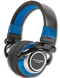 American Audio ETR1000B Headphones