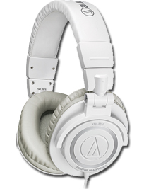 Audio Technica ATH-M50WH Headphones
