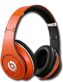 Beats by Dre Studio Headphones in Orange