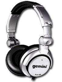 Gemini DJX0-5 DJ Headphones