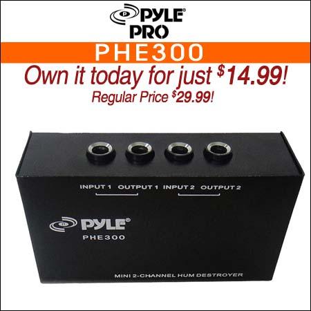 Pyle Pro PHE300