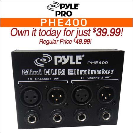 Pyle Pro PHE400