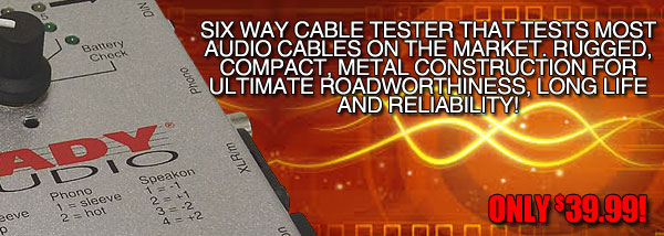 CT6 Cable Tester