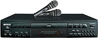 RJ4200 High Performance Karaoke Player with Microphones