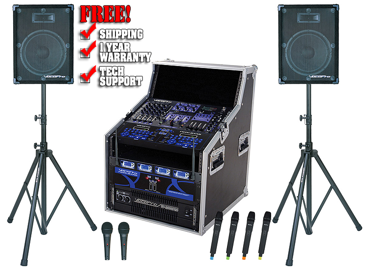 vocopro club hd9500 dj karaoke systems dj audio chicago dj equipment 123dj. Black Bedroom Furniture Sets. Home Design Ideas