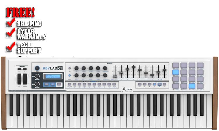 Arturia Keylab 61 61-key Compact Hybrid Synth