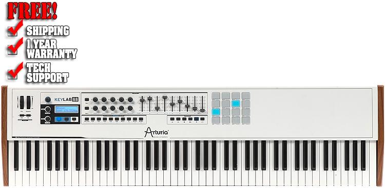 Arturia KeyLab 88-Key USB MIDI Keyboard Controller