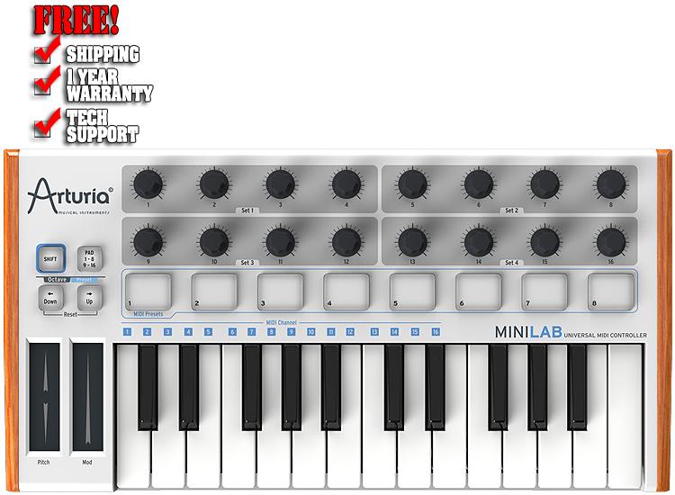 Arturia Minilab 25 Key USB Keyboard Controller