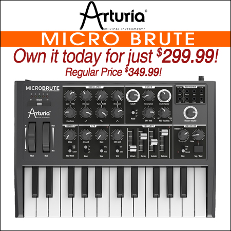 Arturia MICRO BRUTE Analog Synth